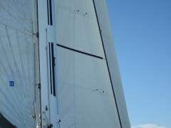 06_mat carbone trinquette voile genois winch hydraulique catamaran mat carbone pivotant arthur voyage mer