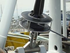 08_poutre avant carbone enrouleur drosse facnor profurl cadène articulée martingale chape custom