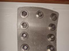 03_contre plaque inox boulon rondelle pliage écrou nylstop TS greement accastillage