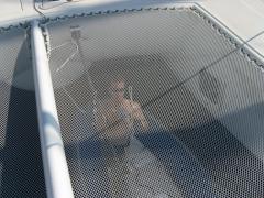 01_filet de trampoline confection pose