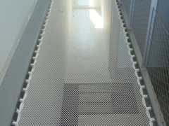 02_filet dyneema custom maison passage trampoline protection