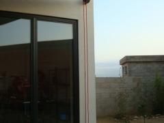 toile dombrage voiles  structures metaliques galvanisation enrouleur drosse fixation projet maison individuelle